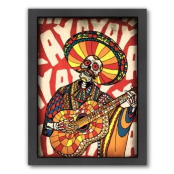 Americanflat ''Mariachi'' Framed Wall Art