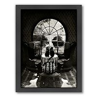 Americanflat ''Room Skull'' Framed Wall Art
