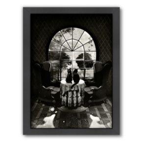 Americanflat ''Room Skull'' Framed Wall Art