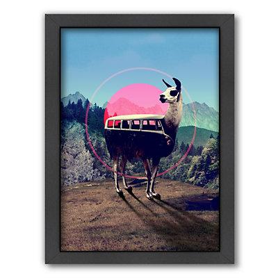 Americanflat ''Llama'' Framed Wall Art