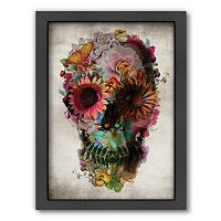 Americanflat ''Skull 2'' Framed Wall Art