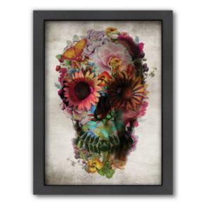 Americanflat ''Skull 2'' Framed Wall Art