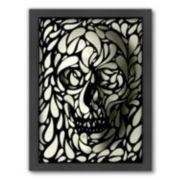 Americanflat ''Skull 4'' Framed Wall Art