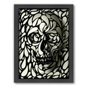 Americanflat ''Skull 4'' Framed Wall Art