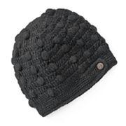 SIJJL Fleece-Lined Crochet Wool Beanie Hat
