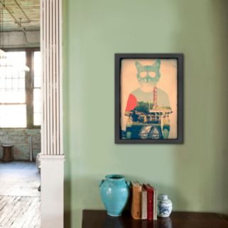 Americanflat ''The Cat'' Framed Wall Art