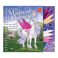 The Marvelous Book of Magical Horses Paper Doll Set by Klutz