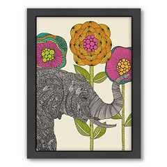 Americanflat ''Aaron'' Elephant Framed Wall Art