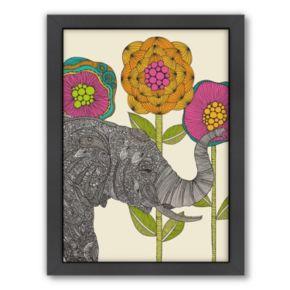 Americanflat ''Aaron'' Elephant Framed Wall Art