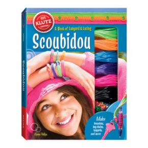 Scoubidou Lanyard and Lacing Book by Klutz