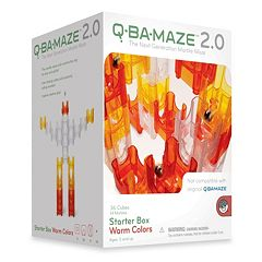MindWare Q-Ba-Maze 2.0 Warm Colors Starter Box