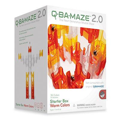 MindWare Q-Ba-Maze 2.0 Warm Colors Starter Box