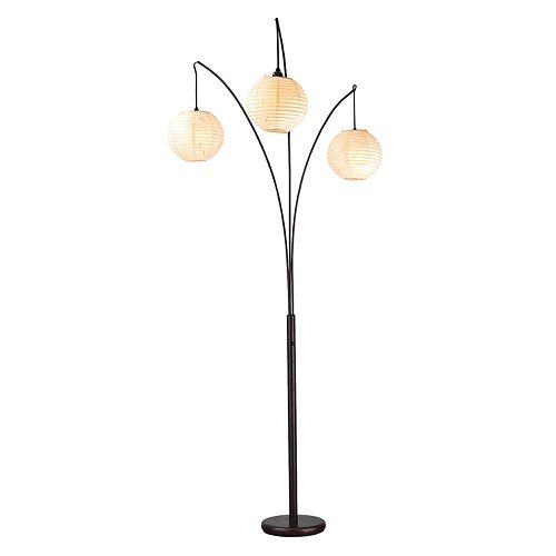 Adesso Spheres Arc Floor Lamp