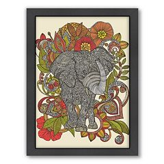 Americanflat ''Boo the Elephant'' Framed Wall Art