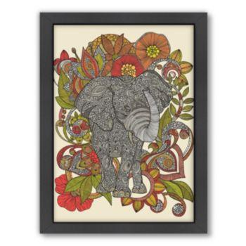Americanflat ''Boo the Elephant'' Framed Wall Art