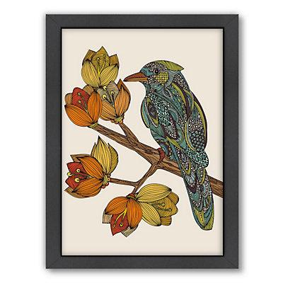 Americanflat ''Bravebird'' Bird Framed Wall Art