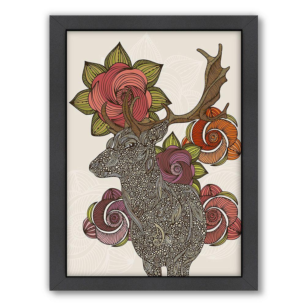 Americanflat ''Dear Deer 2'' Framed Wall Art