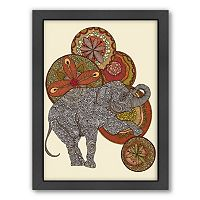 Americanflat ''Dear Horatio'' Elephant Framed Wall Art