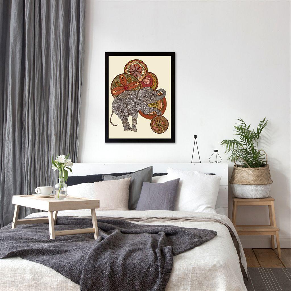Americanflat ''Dear Horatio'' Elephant Framed Wall Art
