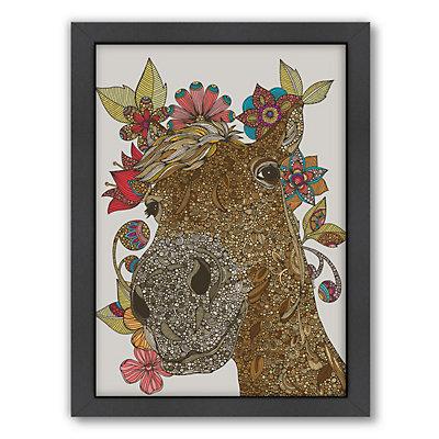 Americanflat ''Delilah'' Horse Framed Wall Art