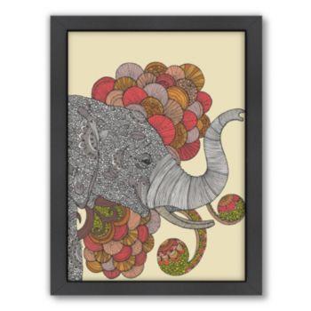Americanflat ''Dreams of India'' Elephant Framed Wall Art