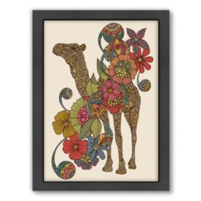 Americanflat ''Easy Camel'' Framed Wall Art