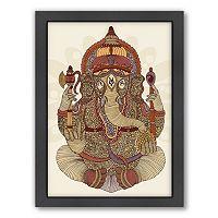 Americanflat ''Ganesha'' Framed Wall Art