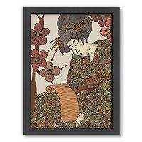 Americanflat ''Geisha'' Framed Wall Art