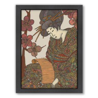 Americanflat ''Geisha'' Framed Wall Art