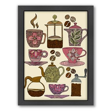 Americanflat ''Have Some Coffee'' Framed Wall Art