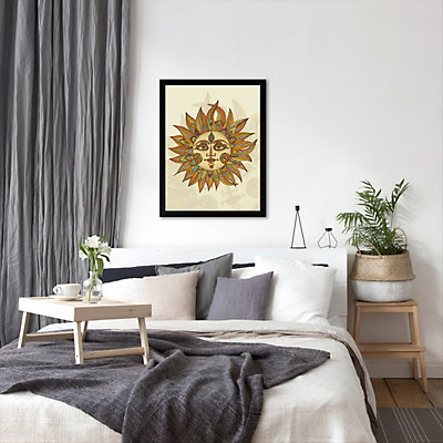 Americanflat ''Helios'' Framed Wall Art