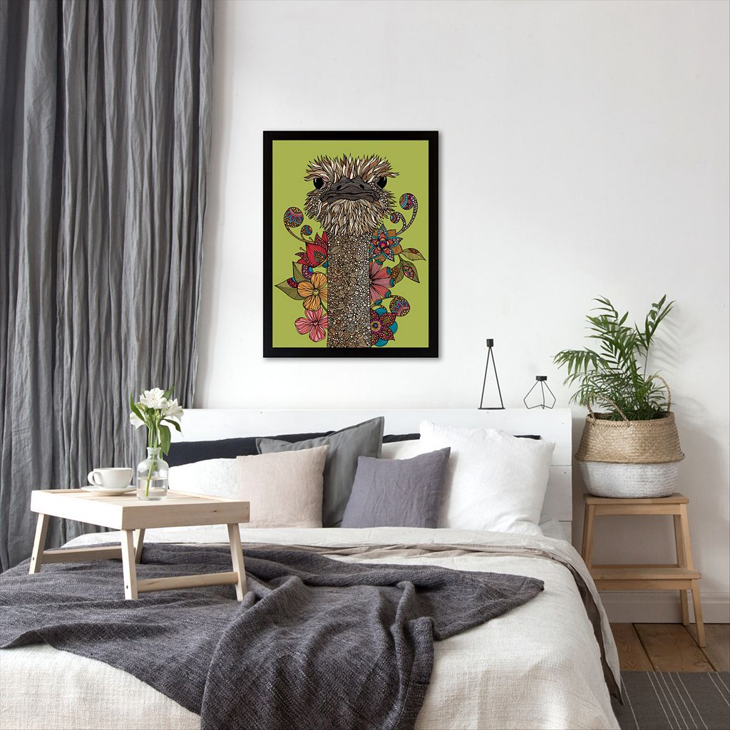 Americanflat ''Hello Person'' Framed Wall Art