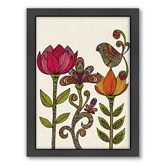 Americanflat ''In The Garden'' Framed Wall Art
