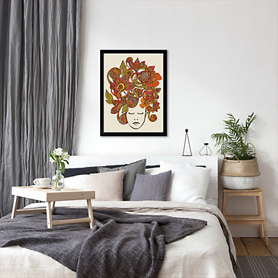 Americanflat ''It's All In Your Head'' Framed Wall Art