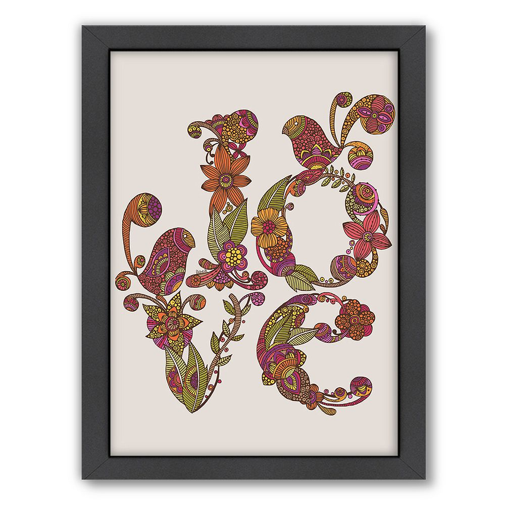 Americanflat ''Love'' Framed Wall Art