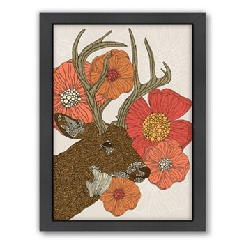 Americanflat ''My Dear Deer'' Framed Wall Art