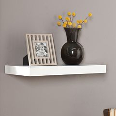 Southern Enterprises Cleveland 24 in Floating Wall Shelf