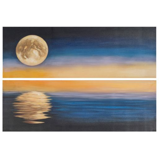 Safavieh 2-piece ''Moonscape'' Diptych Canvas Wall Art Set