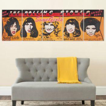 Safavieh 5-piece The Rolling Stones Canvas Wall Art Set