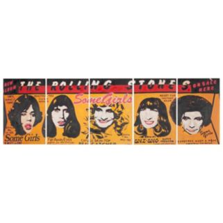 Safavieh 5-piece The Rolling Stones Canvas Wall Art Set