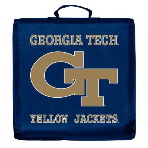 Logo Brand Georgia Tech Yellow Jackets Stadium Cushion