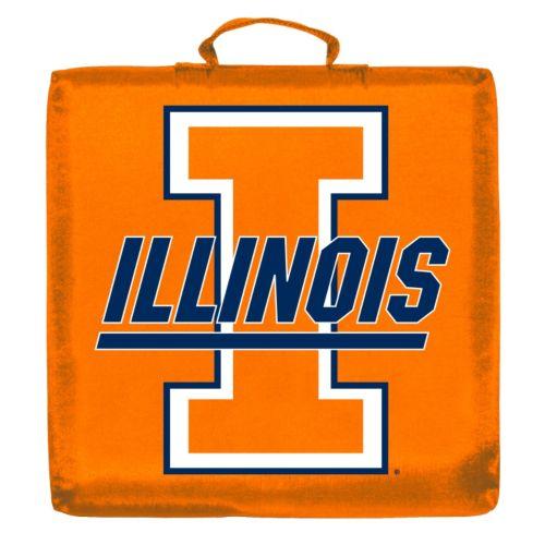 Logo Brand Illinois Fighting Illini Stadium Cushion