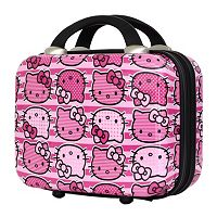 FAB New York Hello Kitty® Stripes Cosmetic Case