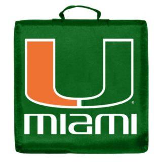Logo Brand Miami Hurricanes Stadium Cushion