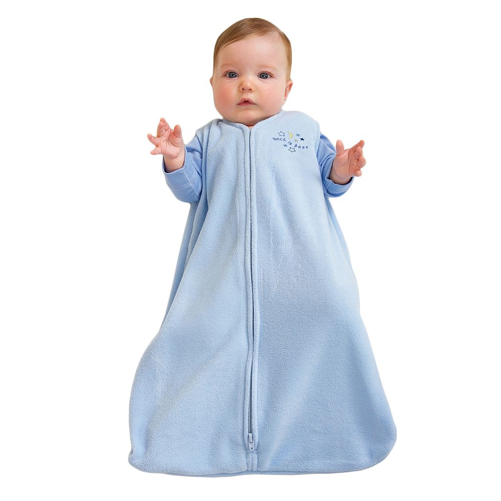 HALO SleepSack Solid Microfleece Wearable Blanket