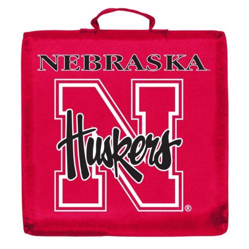 Logo Brand Nebraska Cornhuskers Stadium Cushion