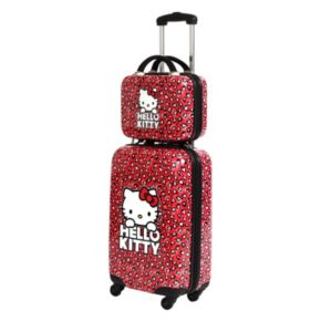 FAB New York Hello Kitty Hearts Cosmetic Case