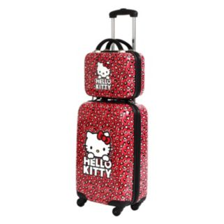 FAB New York Hello Kitty Hearts Cosmetic Case