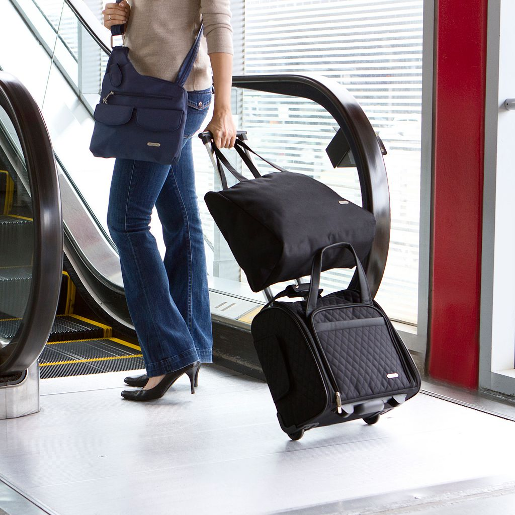 Travelon Wheeled Carry-On Bag