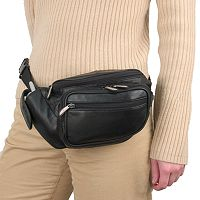Travelon Leather Waist Pack